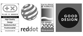 Aktuelle Auszeichnungen Nevobad